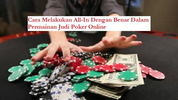 all-in judi poker online idn poker